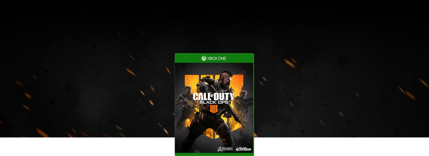 Call Of Duty Black Ops 4 XBOX 1-3
